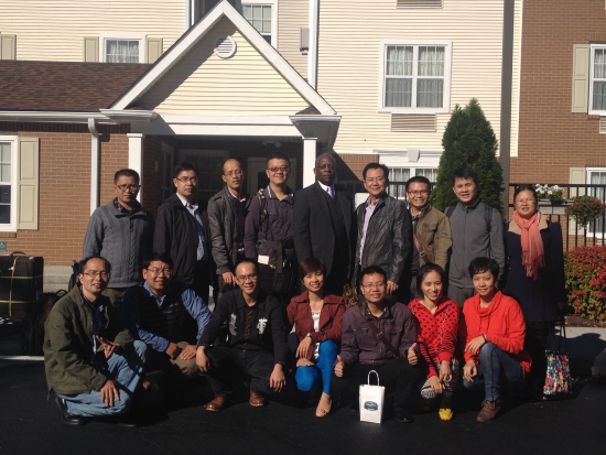 Chinese delegation from Youjiang Medical University for Nationalities